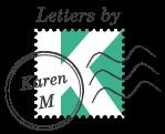 Letters by Karen M Logo Colour