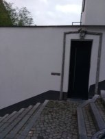 one of the doorways to the houses lining the Montagne de Bueren