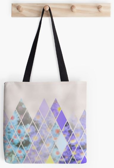 "'Summer in the Alps"", tote bag from Redbubble"